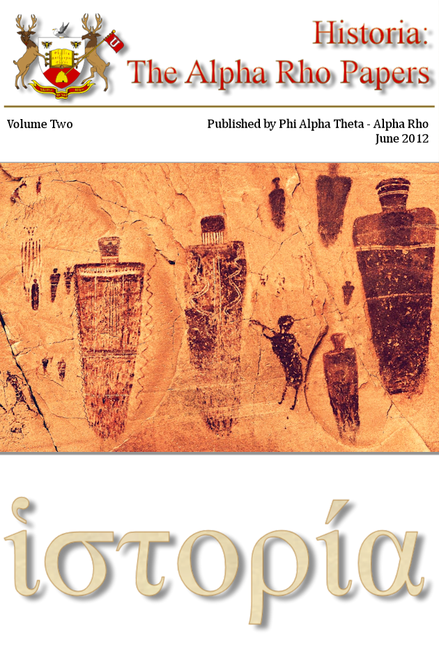 Historia: the Alpha Rho Papers Volume II